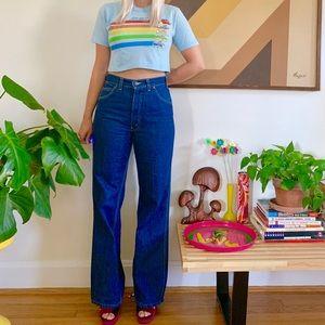 Vintage 70s Levi's Movin On unisex jeans 30x30